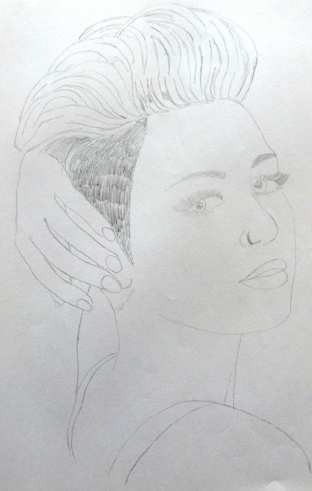 Miley Cyrus by averagedrawer